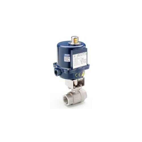 High Pressure Double Electric Ball Valve