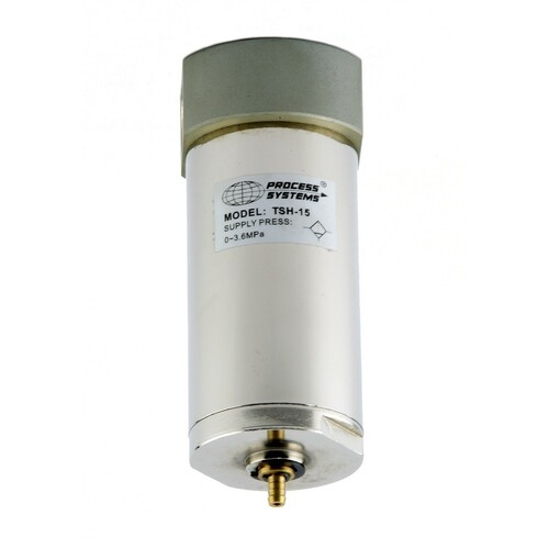 "1/4"" BSP Nickel Plated Steel High Pressure Filter 20μm 35 Bar"